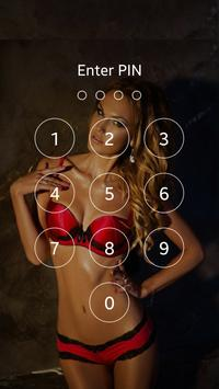 Sexy Lingerie Lock Screen apk screenshot