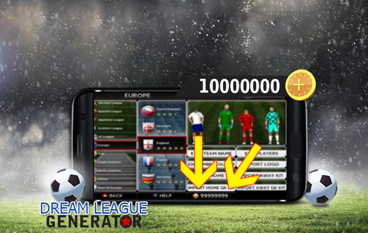 65f1f6bfbbb Hack Dream League Soccer prank for Android - APK Download