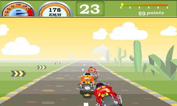 Racing Moto Bike poster