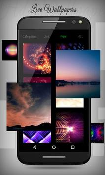 Dream Night HD Live Wallpaper screenshot 3