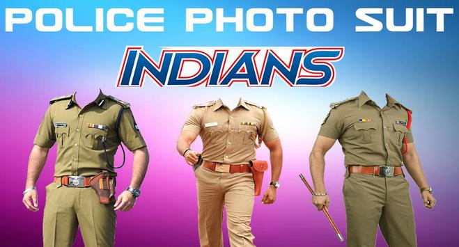 Police Uniform Face Swap: Indian Police Suit Photo poster