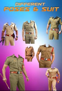Police Uniform Face Swap: Indian Police Suit Photo screenshot 4