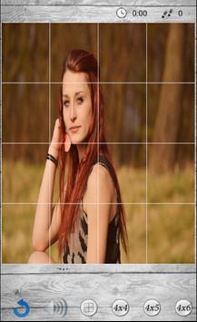 Puzzles beautiful girls screenshot 1