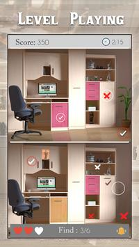 Find The Differences - Rooms 2 screenshot 1