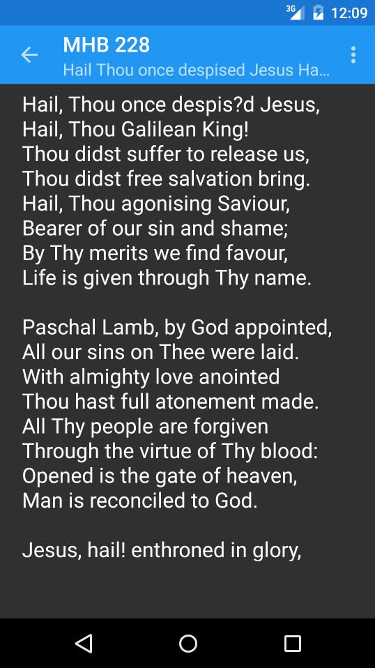 Methodist Hymnal for Android - APK Download