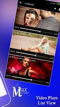 Max Video Player apk screenshot