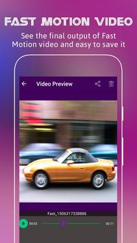 Fast Motion Video Editor apk screenshot