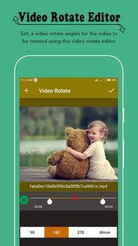 Rotate Video Editor screenshot 2