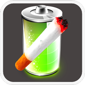 Cigarette Battery Widget icon