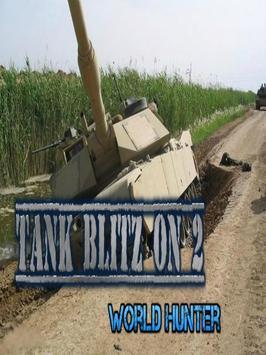 Tank Blitz ON 2 - World Hunter poster