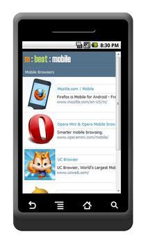 mBest Mobile apk screenshot