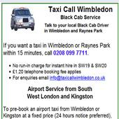 Taxi Call Wimbledon icon