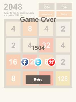 Get2048 apk screenshot