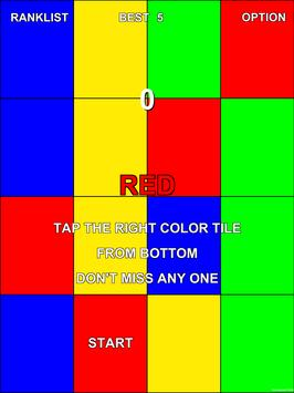 Tap The Right Color Tile screenshot 5