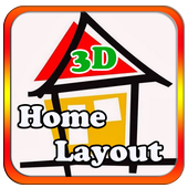 house layout  design icon
