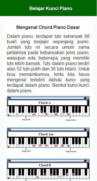 Belajar Piano Dasar For Android Apk Download