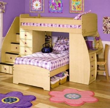 Child bedroom design poster