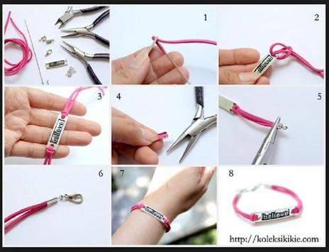 craft bracelets apk screenshot