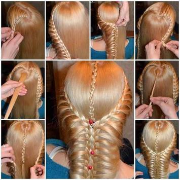 hairstyles tutorial apk screenshot