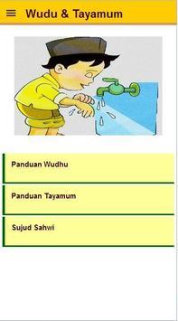 cara wudhu dan tayamum poster
