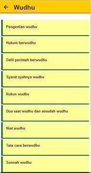 cara wudhu dan tayamum apk screenshot