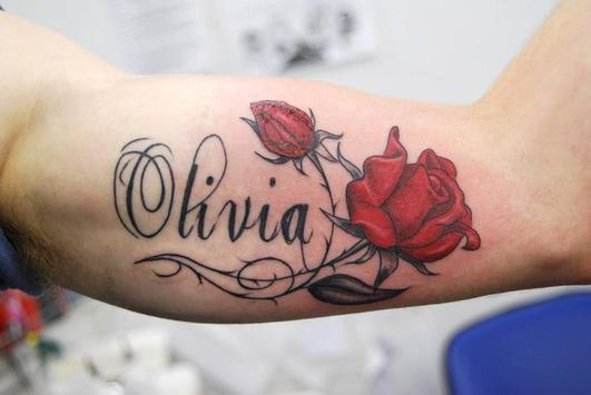 names tattoo idea apk screenshot