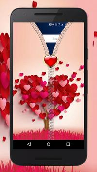 Love Zipper Lock ~ Best Zipper Lock Screen apk screenshot