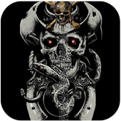 ☠ Skull Zipper Lock ☠ icon