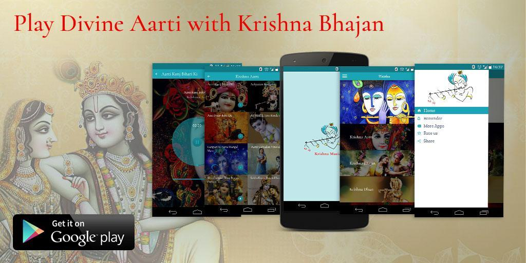 Top 100 Krishna Songs - Bhajan, Aarti & Mantra for Android