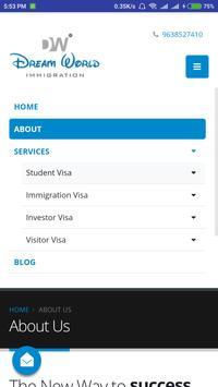 Dream World Immigration apk screenshot
