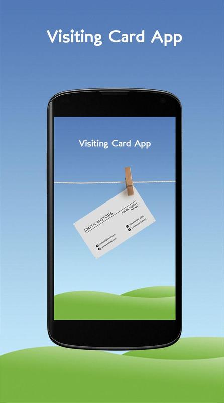 Visiting Card App For Android Apk Download