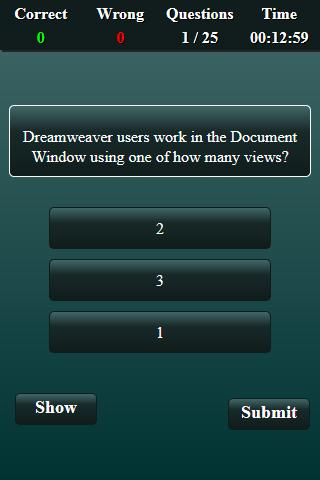 Free Dreamweaver Quiz For Android Apk Download