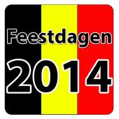 Belgische Feestdagen in 2014 icon