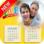 2019 Calendar Photo Frames-Wishes,Greetings icon