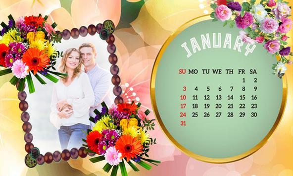2019 Calendar Photo Frames-Wishes,Greetings screenshot 2
