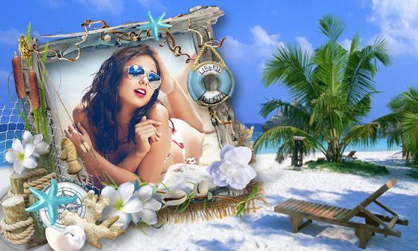 Beach 2018 Photo Frames New poster