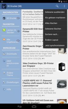 3D Drucker News apk screenshot