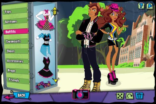Dress Up the monsters screenshot 2