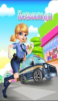 لعبة تلبيس الشرطية screenshot 1