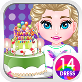 Baby Frozen Party icon
