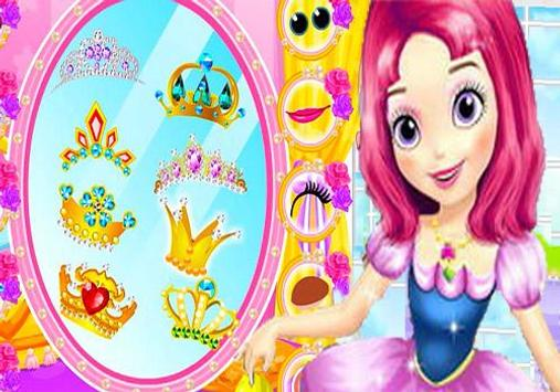 Sofia The First Makeover Games poster