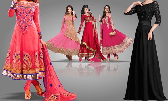 Girls Suit Photo Editor - Dress Changer screenshot 1