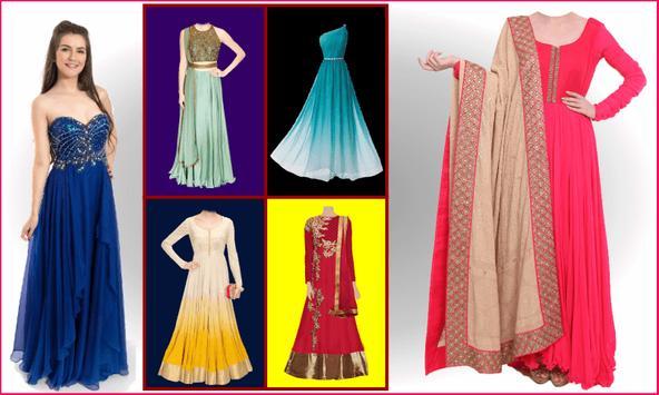 Girls Suit Photo Editor - Dress Changer screenshot 4