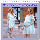 Maternity dress design ideas icon