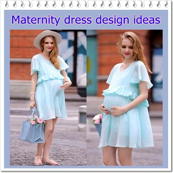 Maternity dress design ideas poster