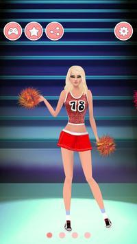 Cheerleader Dress Up Games apk screenshot