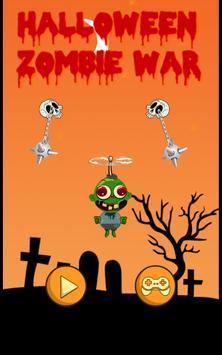 Halloween Zombie War poster