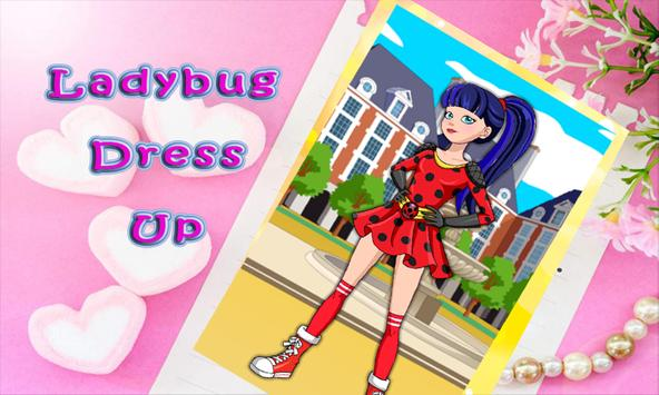 ladybug dress up quinn fashion apk screenshot