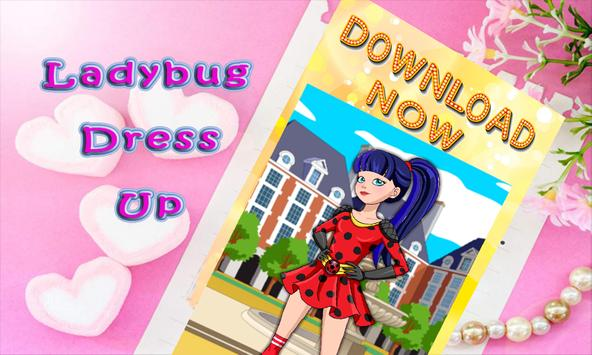 ladybug dress up quinn fashion poster