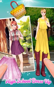 High School Dress Up apk screenshot